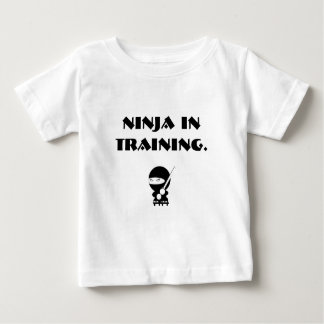 Ninja in training baby T-Shirt