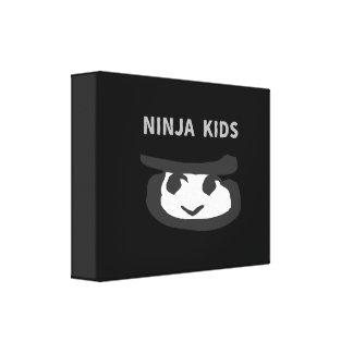 NINJA KIDS CANVAS PRINT