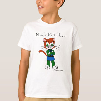 Ninja Kitty Leo T-Shirt