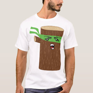 Ninja Log T-Shirt