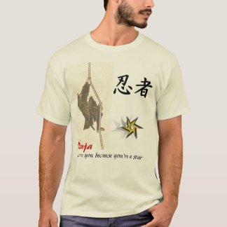 Ninja love you because you're a star T-Shirt