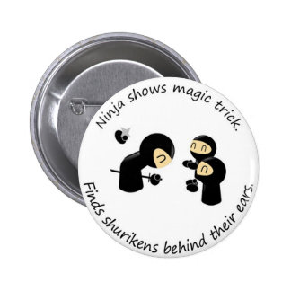Ninja Magic Trick Button