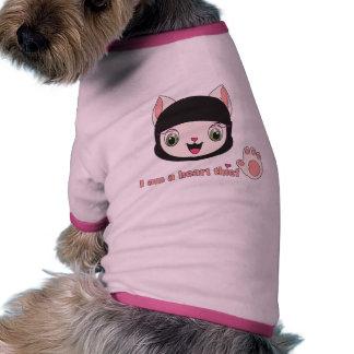 Ninja MEOW™ Doggie Ribbed Tank Top Pet Tee