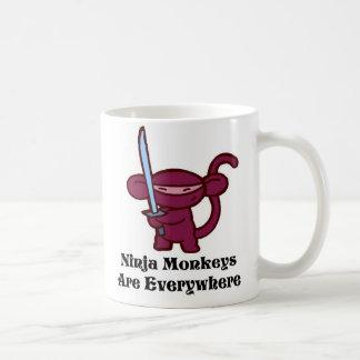 Ninja Monkey Coffee Mug