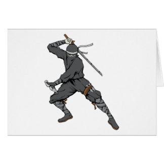 Ninja ~ Ninjas 2 Martial Arts Warrior Fantasy Art Card