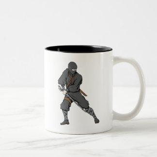 Ninja ~ Ninjas Martial Arts Warrior Fantasy Two-Tone Coffee Mug