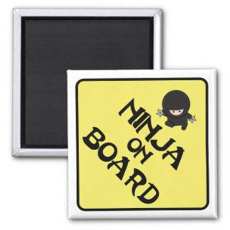 Ninja on Board Magnet