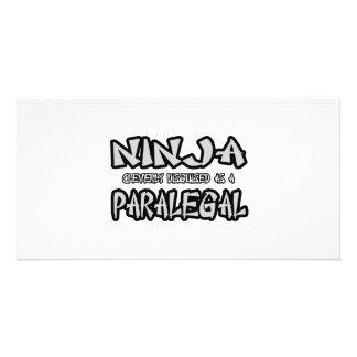 Ninja Paralegal Photo Greeting Card