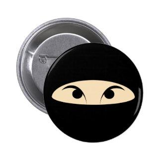 Ninja Pinback Buttons