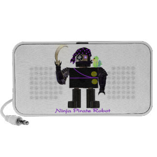 Ninja Pirate Robot Speaker