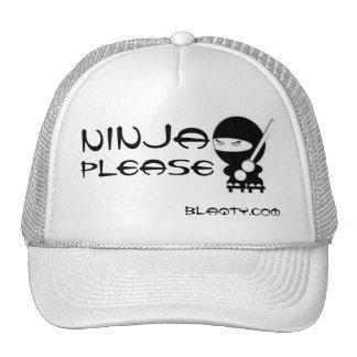 Ninja please mesh hat