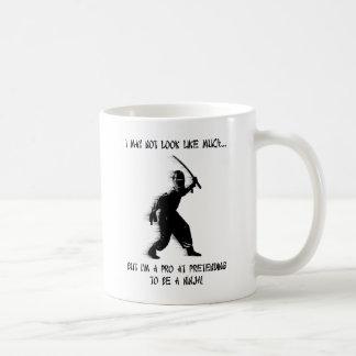 Ninja Pretending Pro Funny Mug Humor
