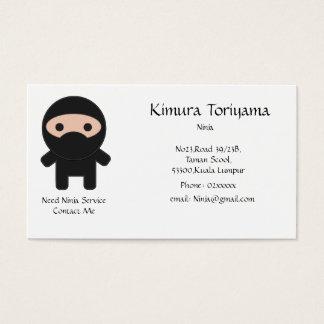 Ninja Service Business Card
