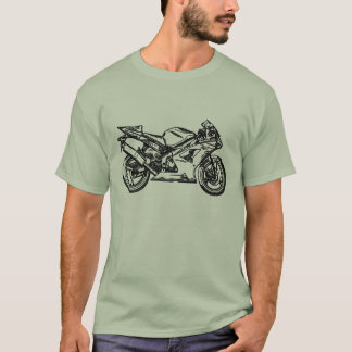Ninja Sportbike Art T-Shirt