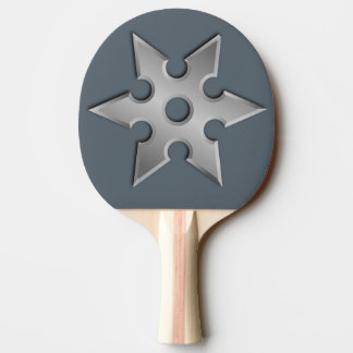 Ninja Star Ping Pong Paddle