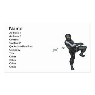 Ninja Style Pack Of Standard Business Cards