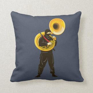 Ninja Trumpeter Cushion