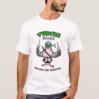 Ninja Turtle Dove T-Shirt