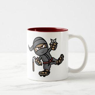 Ninja Two-Tone Mug