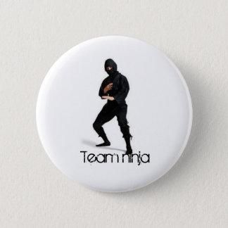 ninjablack-lge, Team ninja 6 Cm Round Badge