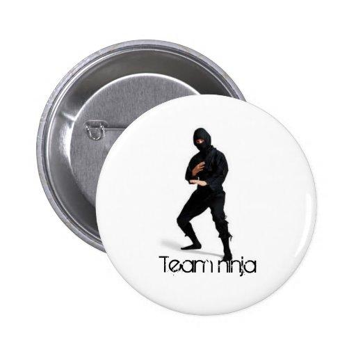 ninjablack-lge, Team ninja Pins