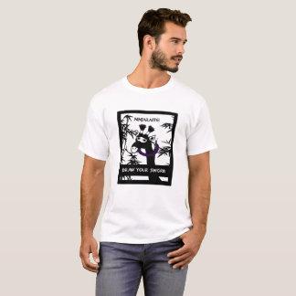 Ninjaraffe! TM Draw Your Sword! T-Shirt