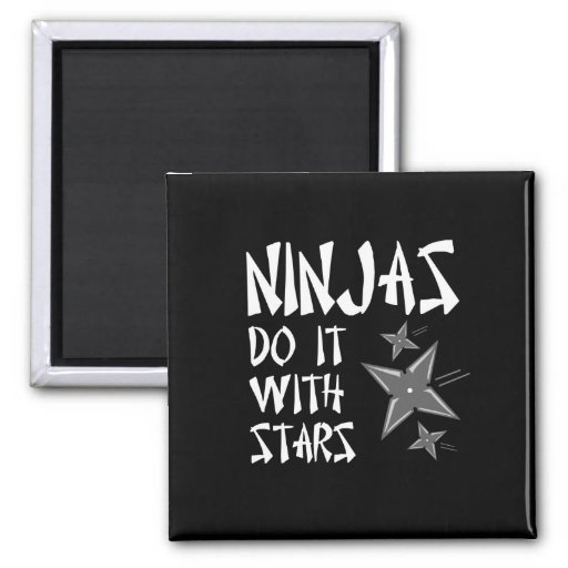 Ninjas Do It With Stars Magnets
