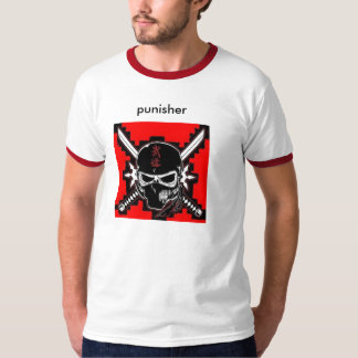 NinjaSkull_logo[1], punisher T-Shirt