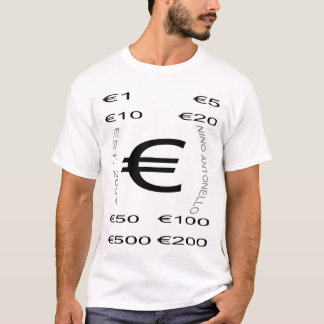 Nino Antonello Est 2007 Side Curve Every Demoninat T-Shirt