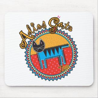 Niños Adios Gato Mouse Pad