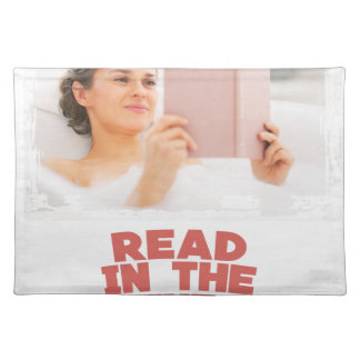 Ninth February - Read In The Bathtub Day Placemat