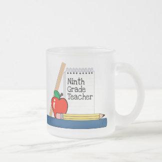 Ninth Grade Teacher (Notebook) Coffee Mugs