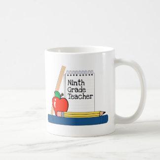 Ninth Grade Teacher (Notebook) Coffee Mug