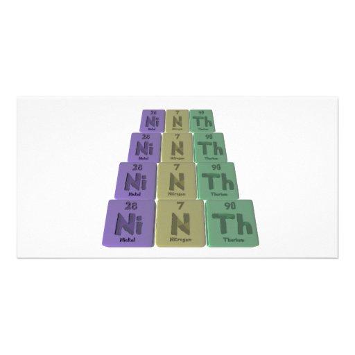 Ninth-Ni-N-Th-Nickel-Nitrogen-Thorium.png Photo Card
