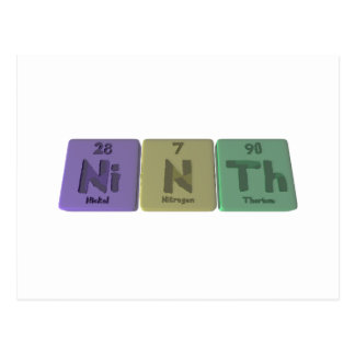 Ninth-Ni-N-Th-Nickel-Nitrogen-Thorium.png Postcards