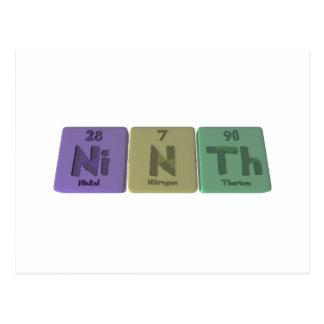 Ninth-Ni-N-Th-Nickel-Nitrogen-Thorium.png Postcard