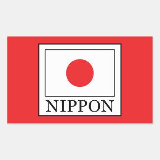 Nippon Rectangular Sticker