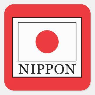 Nippon Square Sticker