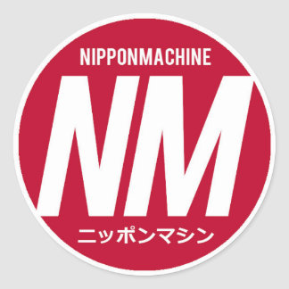 Nipponmachine Stickers