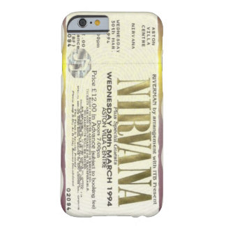 (nirvana ticket case) barely there iPhone 6 case