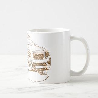 Nis Navara NP300 2016 Coffee Mug