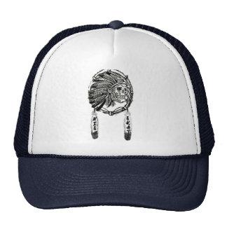 NISH Skate trucker hat team logo