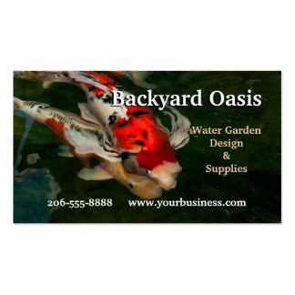 Nishikigoi Impression Pack Of Standard Business Cards