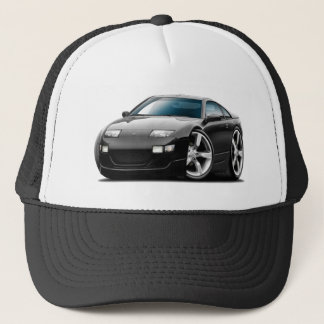 Nissan 300ZX Black Car Trucker Hat