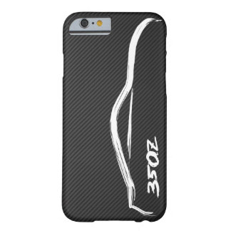 Nissan 350Z White Silhouette Logo Barely There iPhone 6 Case