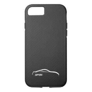 Nissan 350Z White Silhouette Logo iPhone 7 Case