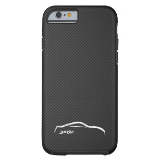Nissan 350Z White Silhouette Logo Tough iPhone 6 Case