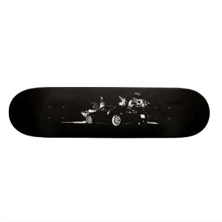 Nissan 370z 18.1 cm old school skateboard deck