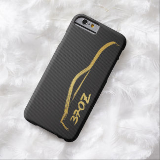 Nissan 370z Gold Silhouette JDM Logo Barely There iPhone 6 Case