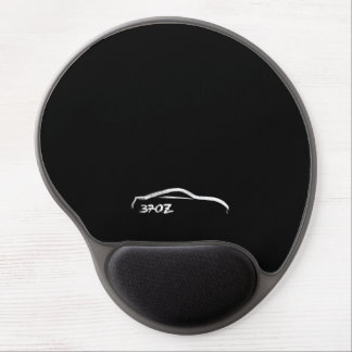 Nissan 370Z White Silhouette Gel Mouse Pad